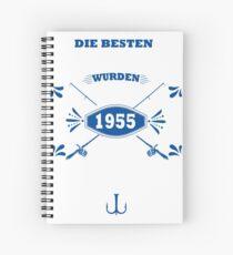 Besten Angler geboren Spiral Notebook