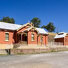 Carcoar Railway Station, NSW by Christine Smith
