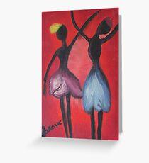 Tulip dancers Greeting Card