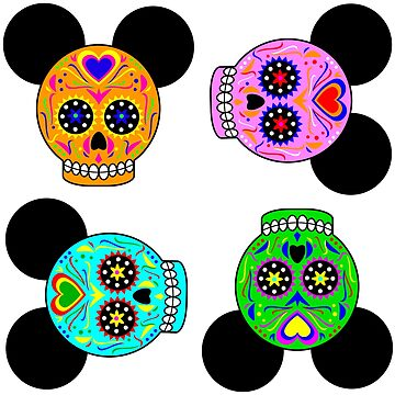 Dia De Los Muertos Ears (Pattern) by Infernoman