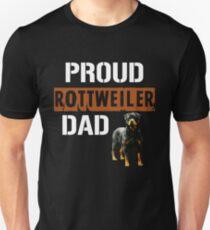 Proud Rottweiler Dad Unisex T-Shirt