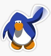 Wave Club penguin Sticker