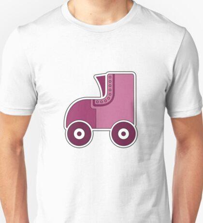 Pink Rollerskate T-Shirt