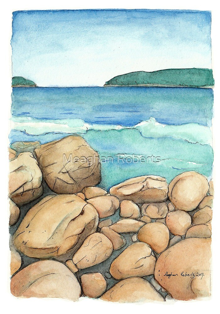 Fortescue Bay Tasmania by Meaghan Roberts