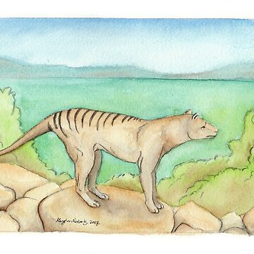 Tasmanian Tiger by MeaghanR