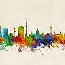 Hannover Germany Skyline by Michael Tompsett