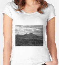 Natural Landscape Women's Fitted Scoop T-Shirt
