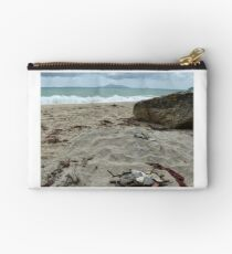 Langs Beach, New Zealand - New Year's Day 2015 Studio Pouch