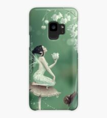 Lily of the Valley Flower Fairy Case/Skin for Samsung Galaxy