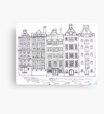 Dutch Houses  Metal Print