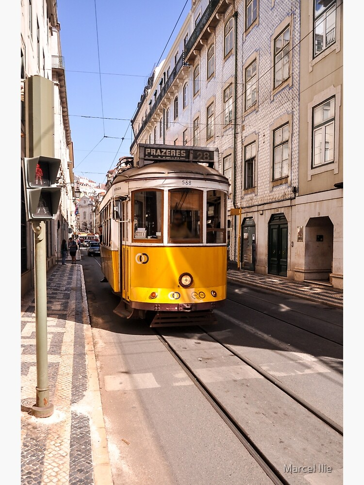 Lisbon tram by imaruseru