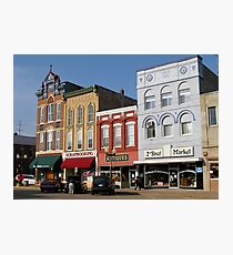 Historic Downtown Hastings Photographic Print