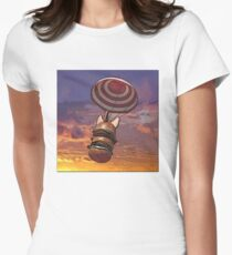BURGERBOMB5 Women's Fitted T-Shirt
