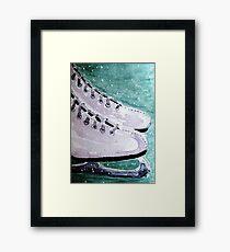 To Skate Framed Print