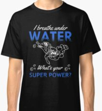 Love Scuba diving tshirt Classic T-Shirt