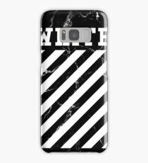 Off White Virgil Abloh Phone Case [Marble] Samsung Galaxy Case/Skin