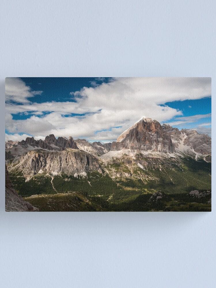 Alternate view of Dolomiti Canvas Print