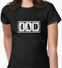 4AD Records Women's Fitted T-Shirt