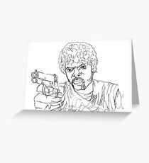 Jules Winnfield Greeting Card