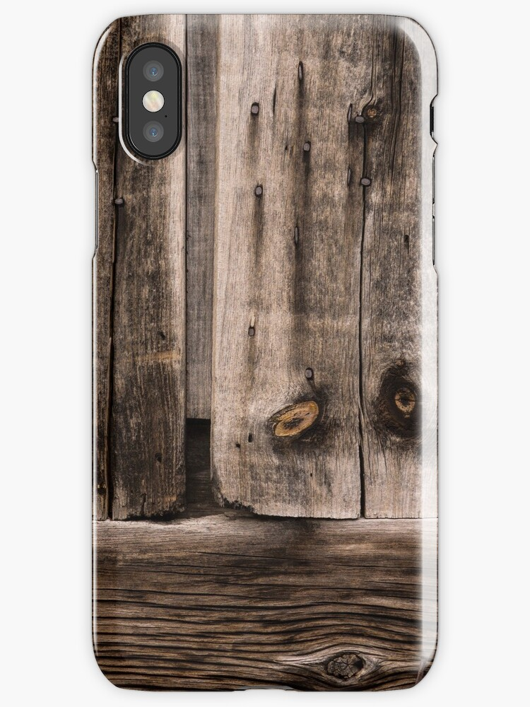 Weathered Wooden Abstracts - Take Two by Georgia Mizuleva
