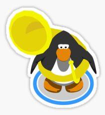 Tuba Penguin  Sticker