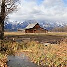 Moulton Barn by Ann  Van Breemen