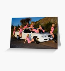 A Holden Ute in April Greeting Card
