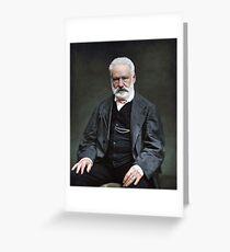 Victor Hugo Greeting Card
