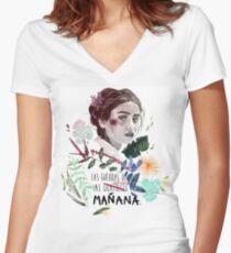 LILI by elenagarnu Camiseta entallada de cuello en V