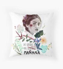 LILI by elenagarnu Throw Pillow
