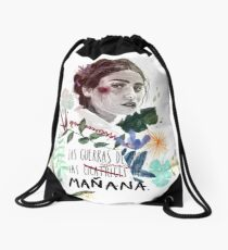 LILI by elenagarnu Drawstring Bag