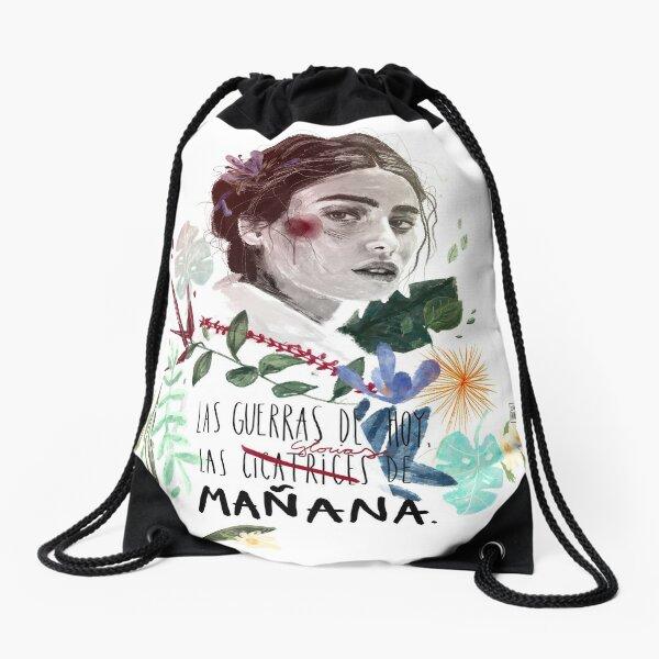 LILI by elenagarnu Drawstring Bag