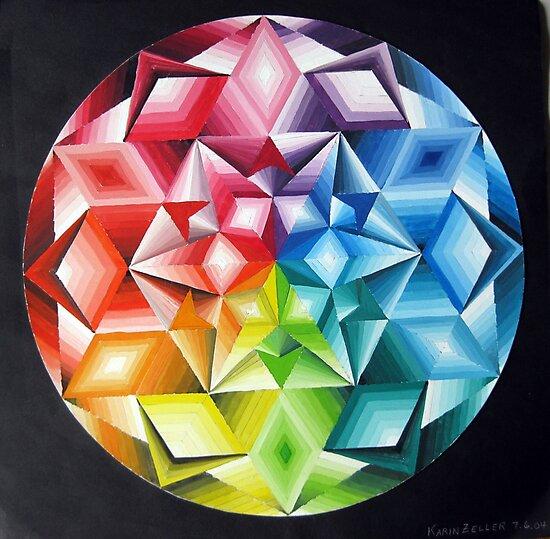 Colour wheel  by Karin Zeller