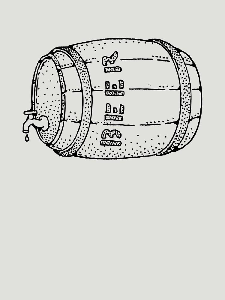 Beer barrel by schoonerversity
