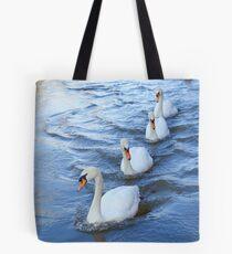 Swan lane Tote Bag