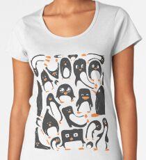 Penguin Party Women's Premium T-Shirt