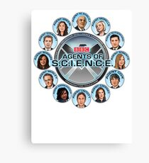 BBC Agents Of Science Canvas Print