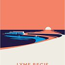 Lyme Regis Seascape - Portrait by Stephen Wildish
