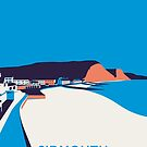 Sidmouth Seascape- Portrait by Stephen Wildish