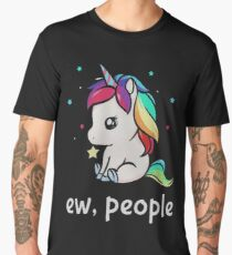 Ew, People Unicorn Men's Premium T-Shirt