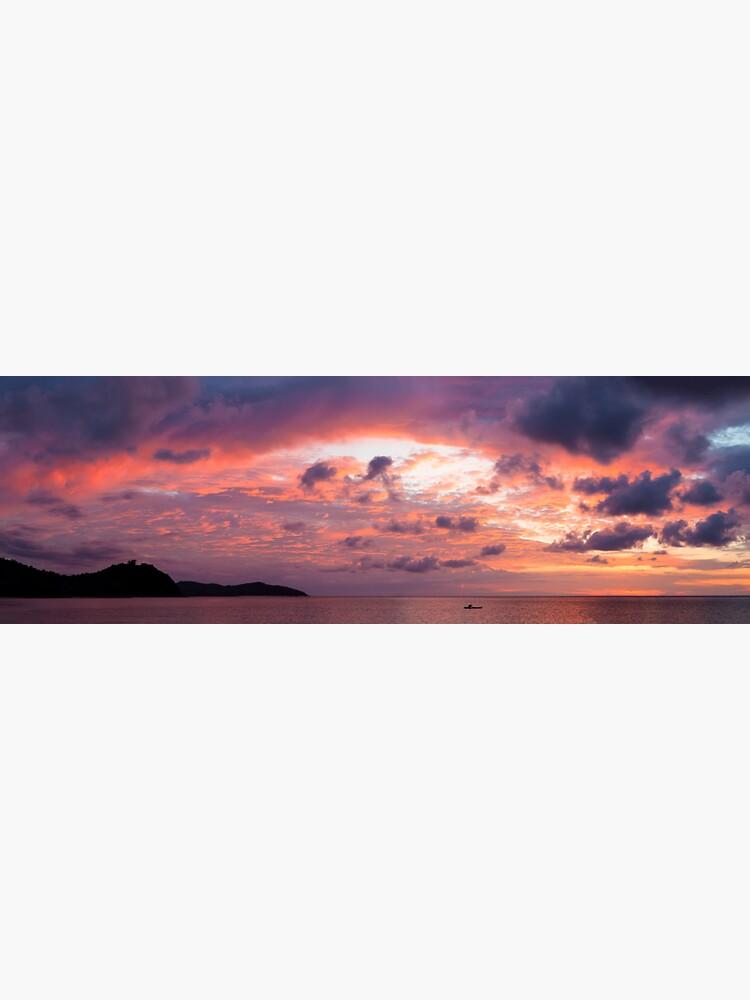 Beautiful vivid sunset by Juhku