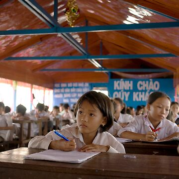 Floating Classroom in Cambodia by ccchan27