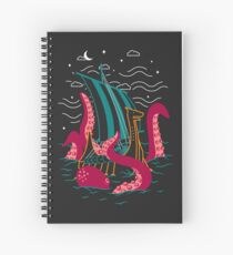 Troubled Sea Spiral Notebook
