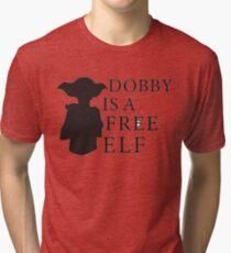 Dobby Is A Free Elf Tri-blend T-Shirt
