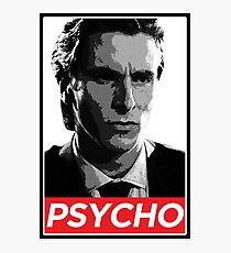 Patrick Bateman American Psycho Photographic Print