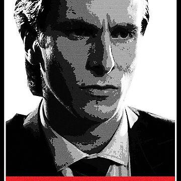 Patrick Bateman American Psycho by VVdesigns
