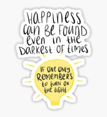 Happiness Can Be Found Sticker