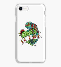Be Mine Panther Chameleon iPhone Case/Skin