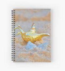 Aladdin's lamp Spiral Notebook