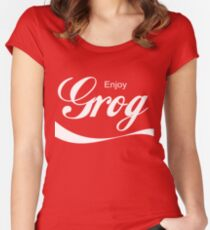 Grog Women's Fitted Scoop T-Shirt
